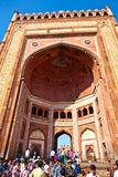 The Jama Masjid in Fatehpur Sikri is a mosque in Agra, completed Stock Photos