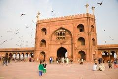 Jama Masjid Gate, Delhi, India Royalty Free Stock Photo
