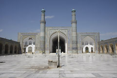 Jama Masjid of Herat. Great mosque of Herat, Afghanistan Stock Image