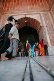 Jama-masjid i delhi Royaltyfria Foton