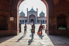 Jama masjid INDIA Royalty Free Stock Photography