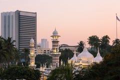 Jama Masjid in Kuala Lumpur Stock Photography