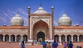 Jama Masjid, la India Foto de archivo