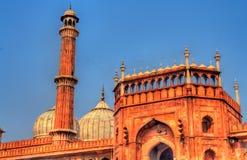 Jama Masjid, la mosquée principale de Delhi, Inde Photo stock