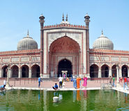 Jama Masjid - The Largest Mosque in India stock photos