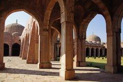 Jama Masjid in Mandu, India. Ruins of Afghan architecture in Mandu Royalty Free Stock Image