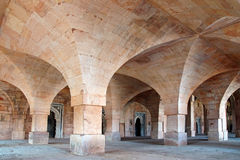 Jama Masjid in Mandu, India. Ruins of Afghan architecture in Mandu royalty free stock photo