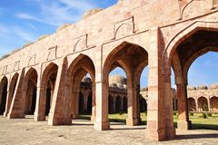 Jama Masjid in Mandu, India. Jama Masjid in Mandu is a ruined ancient city, India Royalty Free Stock Photo
