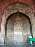 Jama Masjid, mezquita imagen de archivo