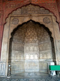 Jama Masjid, moschea Immagine Stock