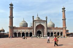 Jama Masjid Mosque Stock Images