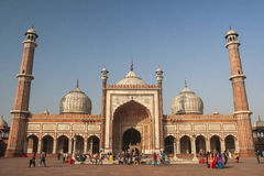 Jama Masjid Mosque in Delhi Stock Photo