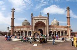 Jama Masjid Mosque in Delhi Stock Images