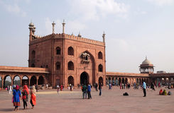 Jama Masjid Mosque, Delhi Stock Photography