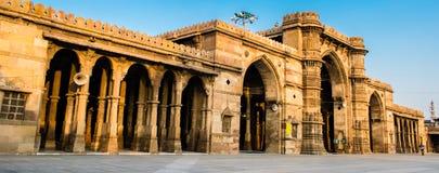 Jama Masjid & x28; mosque& x29; em Ahmedabad fotografia de stock
