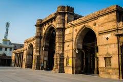 Jama Masjid & x28; mosque& x29; em Ahmedabad fotografia de stock royalty free