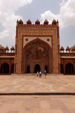 Jama Masjid mosque at the Fatehpur Sikri India Royalty Free Stock Images