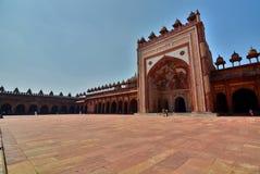 Jama Masjid (mosque). Fatehpur Sikri. Uttar Pradesh. India Stock Image