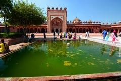 Jama Masjid (mosque). Fatehpur Sikri. Uttar Pradesh. India Royalty Free Stock Images