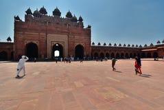 Jama Masjid (mosque). Fatehpur Sikri. Uttar Pradesh. India Stock Photography