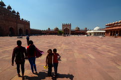 Jama Masjid (mosque). Fatehpur Sikri. Uttar Pradesh. India Stock Images