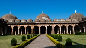 Jama Masjid Mosque Mandu MP-Indien Royaltyfri Bild