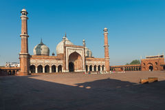 Jama Masjid Mosque, Old Dehli, India Stock Images