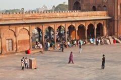 Jama Masjid Mosque, old Delhi, Royalty Free Stock Image