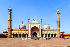 Jama Masjid Mosque, old Delhi, Stock Image