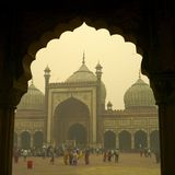 Jama Masjid Mosque Royalty Free Stock Photos