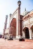 Jama Masjid Mosque, old Delhi, India. Stock Images