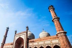 Jama Masjid Mosque, old Delhi, India. Royalty Free Stock Photos