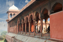 Jama Masjid Mosque, Old Delhi, India. Royalty Free Stock Photography