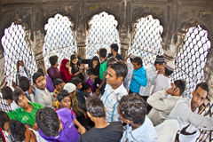 Jama Masjid Mosque, old Delhi, India. Stock Photos