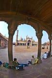 Jama Masjid Mosque, old Delhi, India. Royalty Free Stock Images