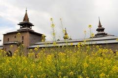 Jama Masjid Mosque, Srinagar, Kashmir, India Royalty Free Stock Photos