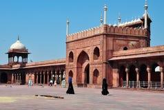 Jama Masjid, New Delhi, India. Muslim women Stock Photo