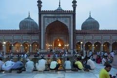 Jama masjid in Old Delhi in India Royalty Free Stock Photo