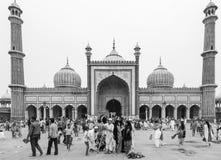 Jama masjid in Old Delhi in India Royalty Free Stock Image