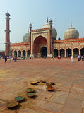 Jama Masjid, Old Delhi. The largest mosque in India, capable of holding more than 25,000 worshippers Stock Photo