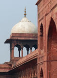 Jama Masjid, Old Delhi. The largest mosque in India, capable of holding more than 25,000 worshippers Stock Image