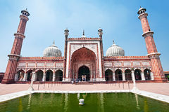 Jama Masjid Royalty Free Stock Photography