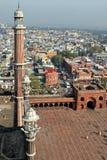 Jama Masjid und altes Delhi lizenzfreie stockbilder