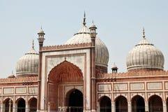 Jama Masjid von Delhi, Indien Lizenzfreie Stockfotos