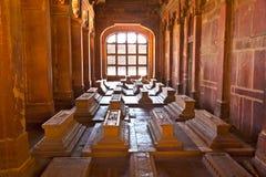 Jama Masjid w Fatehpur Sikri jest meczetem w Agra, uzupełniającym wewnątrz Zdjęcie Stock