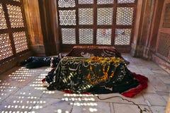 Jama Masjid w Fatehpur Sikri jest meczetem w Agra, uzupełniającym wewnątrz Obraz Stock