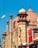 Jama Masjid, wielki meczet w Agra, Uttar - Pradesh, India Zdjęcia Royalty Free