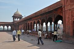jama-masjidmoské Royaltyfri Foto