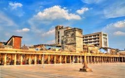 Jama meczet prześwietny meczet Ahmedabad, Gujarat, -, India Obraz Royalty Free