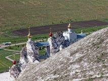 Jama monaster w Kostomarovo fotografia stock